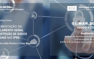 Flash Training Course: Implementação do Regulamento Geral de Proteção de Dados Pessoais nas IPSS