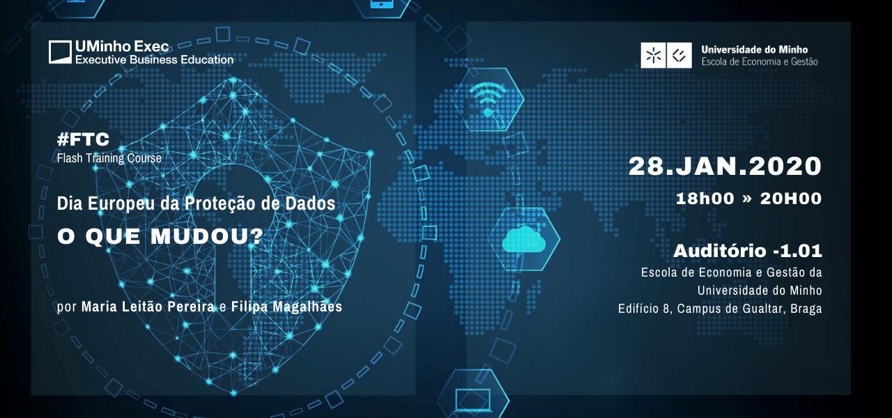 Banner FTC_Dia europeu da proteção de dados