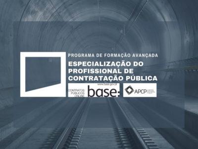 Programa de Formação Avançada – Especialização do Profissional de Contratação Pública