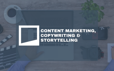 Content Marketing, Copywriting & Storytelling