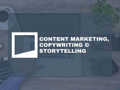 Content Marketing, Copywriting & Storytelling