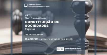 Constituição de Sociedades - Registos