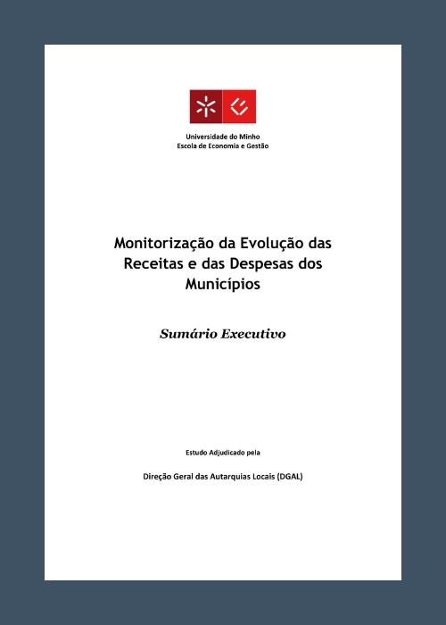Monitorização da evolução das receitas e das despesas dos municípios portugueses